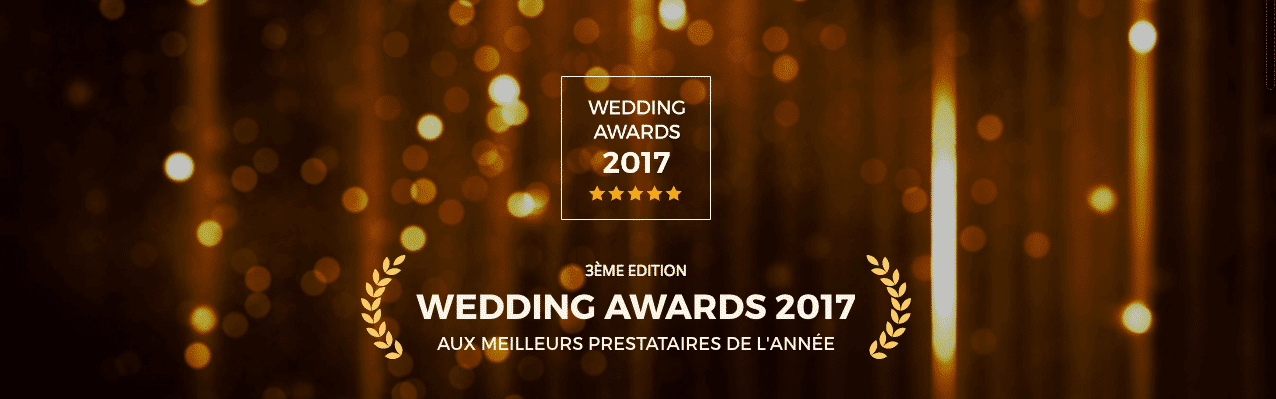 wedding award 2017 mariages.net